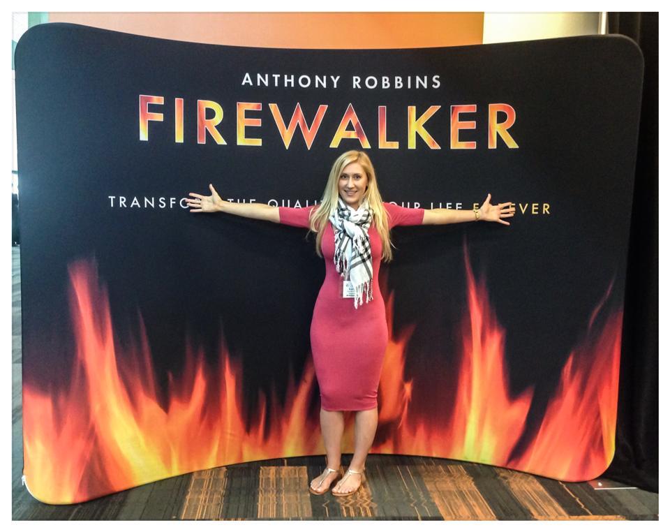 UPW Tony Robbins Firewalk